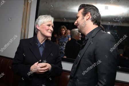 Stock Picture of Glenn Close and Gilles Paquet-Brenner