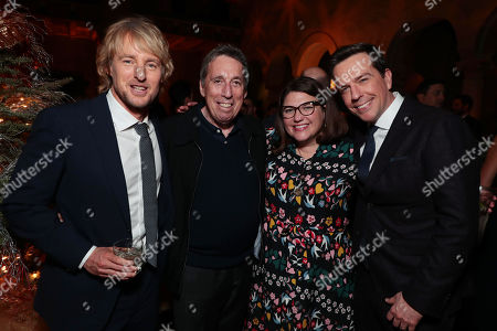 Stock Image of Owen Wilson, Ivan Reitman, producer, Ali Bell, producer, and Ed Helms