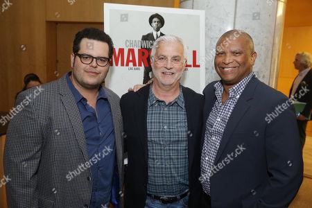 Josh Gad, Rob Friedman, Chairman & CEO of TMP Entertainment, Reginald Hudlin, director/producer