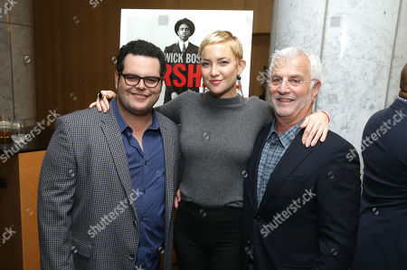 Josh Gad, Kate Hudson and Rob Friedman, Chairman & CEO of TMP Entertainment