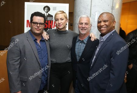Josh Gad, Kate Hudson, Rob Friedman, Chairman & CEO of TMP Entertainment, and Reginald Hudlin, director/producer