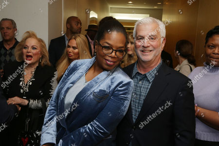 Oprah Winfrey and Rob Friedman, Chairman & CEO of TMP Entertainment