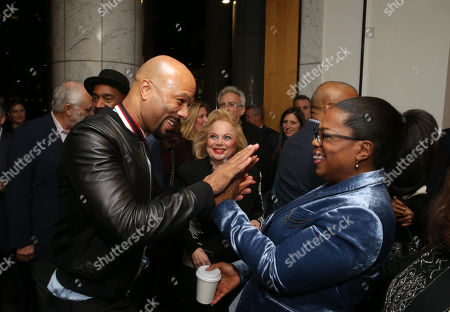 Common, Carol Connors and Oprah Winfrey