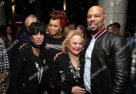 Diane Warren, Andra Day, Carol Connors and Common