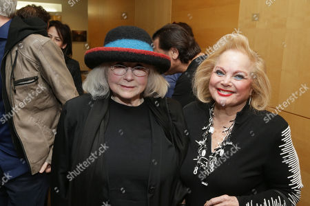 Piper Laurie and Carol Connors