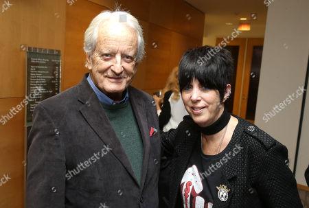 Nicolas Coster and Diane Warren