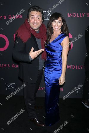 Leopoldo Gout, executive producer and Molly Bloom
