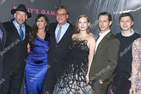 Editorial image of 'Molly's Game' film premiere, Arrivals, New York, USA - 13 Dec 2017