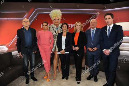 Günter Wallraff, Sophia Thomalla, Olivia Jones, Sandra Maischberger, Astrid Frohloff, Peter Hahne, Markus Feldenkirchen