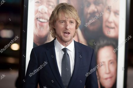 "Owen Wilson attends the LA Premiere of ""Father Figures"", in Los Angeles"