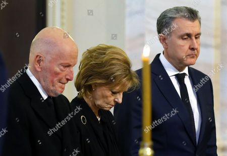Editorial picture of Simeon Borisov Saxe-Coburg-Gotha paying respect to Former King Michael I of Romania, Bucharest - 14 Dec 2017