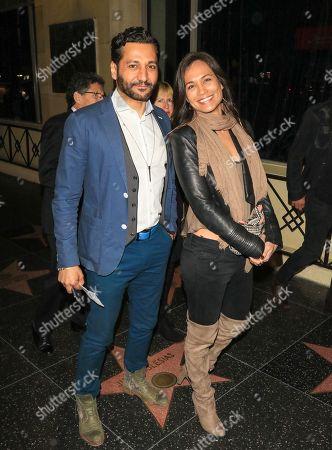 Cas Anvar and Nadine Nicole Heimann