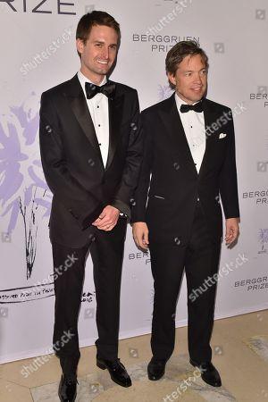 Evan Spiegel and Nicolas Berggruen