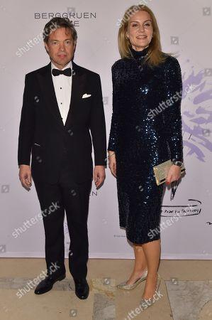 Nicolas Berggruen and Diana Widmaier Picasso