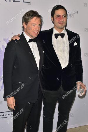 Nicolas Berggruen and Julio Santo Domingo