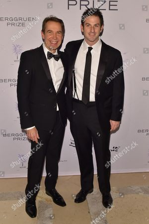 Jeff Koons and Jared Cohen