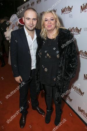Editorial image of 'Nativity' arrivals, Gala Night, London, UK - 14 Dec 2017