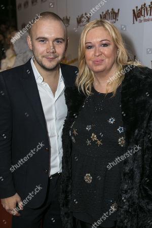 Stock Photo of Jamie Wilson (Producer) and Debbie Isitt (Author)