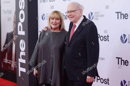 Susan Buffett and Warren Buffett