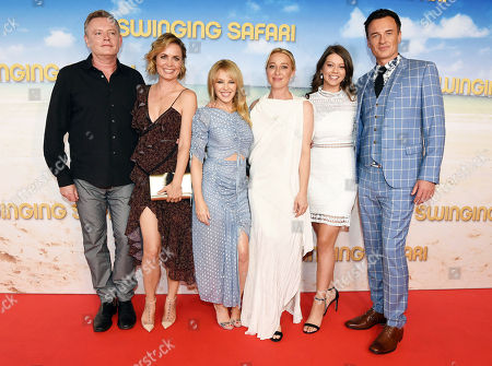 Director Stephen Elliott with Cast Radha Mitchell, Kylie Minogue, Asher Keddie, Chelsea Glaw and Julian McMahon