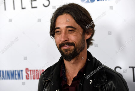 """Stock Photo of Ryan Bingham arrives at the premiere of """"Hostiles"""" at the Samuel Goldwyn Theater, in Beverly Hills, Calif"""