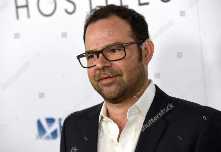 """Rory Cochrane arrives at the premiere of """"Hostiles"""" at the Samuel Goldwyn Theater, in Beverly Hills, Calif"""