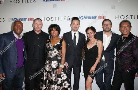 Byron Allen, Christian Bale, Carolyn Folks, Scott Cooper, Q'Orianka Kilvcher, Rory Cochran, Wes Studi