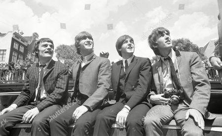 Jimmie Nicol, John Lennon, Sir Paul McCartney, George Harrison