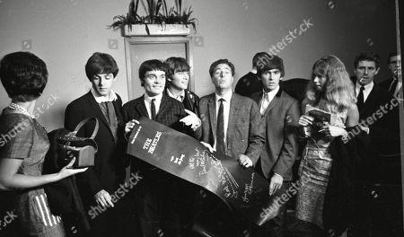 Sir Paul McCartney, Jimmie Nicol, John Lennon, George Harrison
