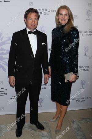 Nicolas Berggruen, Chairman of the Berggruen Institute and Helle Thorning-Schmidt, Former Prime Minister of Denmark