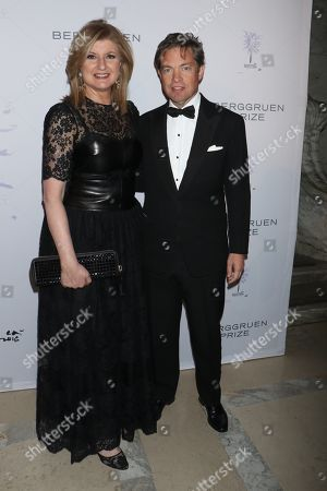 Arianna Huffington and Nicolas Berggruen, Chairman of the Berggruen Institute