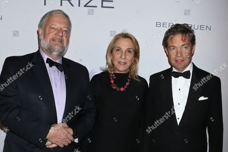 Editorial image of Berggruen Prize Gala, Arrivals, New York, USA - 14 Dec 2017