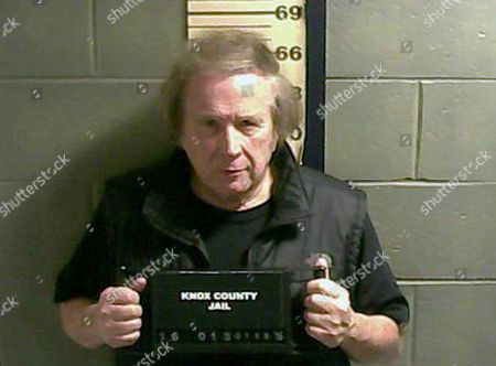 "This file booking photo provided by the Knox County Jail shows Don McLean. ""American Pie"" singer McLean admitted to domestic violence assault against his estranged wife, and will avoid jail time. The singer-songwriter pleaded guilty in court Thursday, July 21, to the charge and related counts"