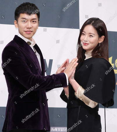 Lee Seung-gi and Oh Yeon-seo