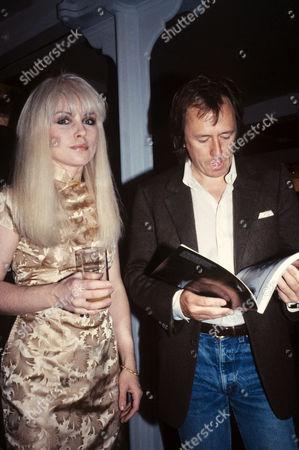Stock Photo of Blondie - Debbie Harry and Brian Aris
