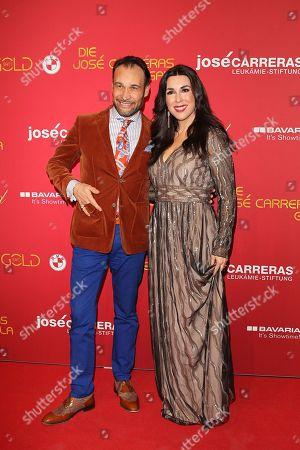 Alexander Klaus Stecher with wife Judith Williams