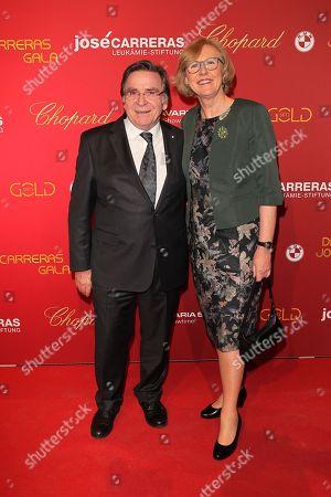 Elmar Wepper with wife Anita