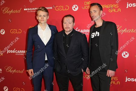 Joey Kelly with Sohn Luke Kelly and Begleitung
