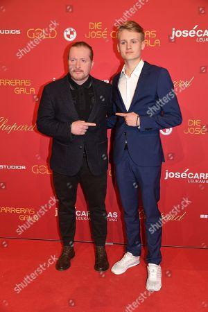Joey Kelly with Sohn Luke