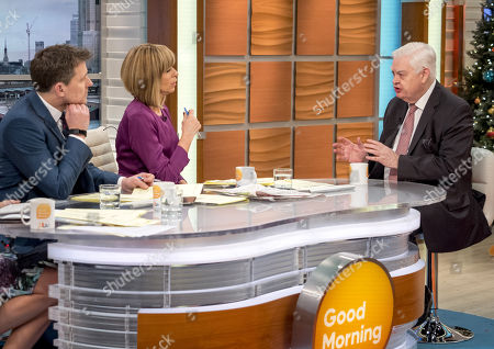 Ben Shephard and Kate Garraway with Lord Norman Lamont