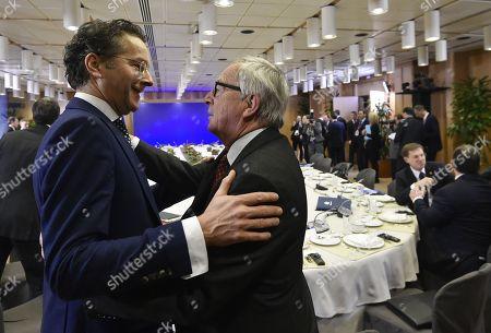 Jeroen Dijsselbloem and Jean Claude Juncker
