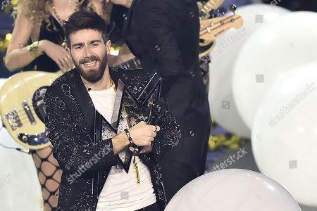 Editorial image of 'X Factor' TV show, Milan, Italy - 14 Dec 2017