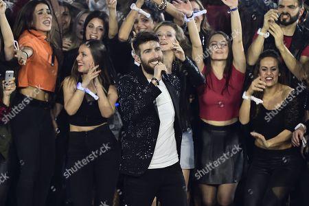 Editorial photo of 'X Factor' TV show, Milan, Italy - 14 Dec 2017