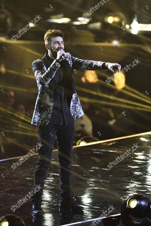 Editorial picture of 'X Factor' TV show, Milan, Italy - 14 Dec 2017