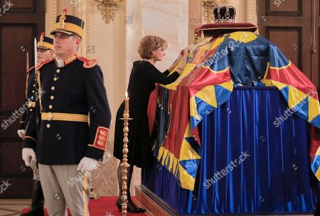 Editorial picture of King's Funeral, Bucharest, Romania - 15 Dec 2017