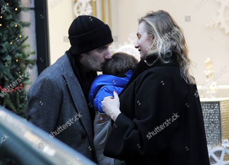 Editorial photo of Eva Riccobono and Matteo Ceccarini out and about, Milan, Italy - 15 Dec 2017