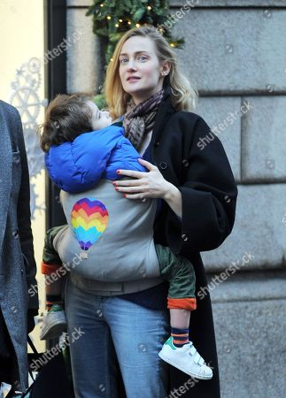 Editorial picture of Eva Riccobono and Matteo Ceccarini out and about, Milan, Italy - 15 Dec 2017
