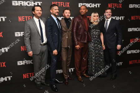 Eric Newman, David Ayer, Joel Edgerton, Will Smith, Noomi Rapace, Bryan Unkeless