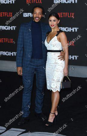 Tony Sinclair and Shanie Ryan