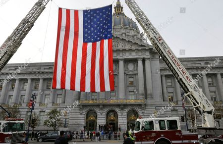 Editorial picture of Mayor Death, San Francisco, USA - 15 Dec 2017